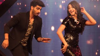 Arjun Kapoor With Yo Yo Honey Singh, Gauhar Khan at India