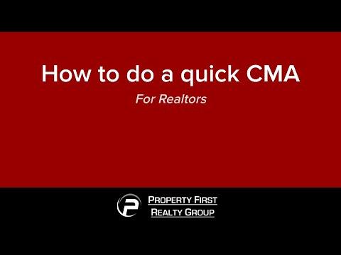How to do a quick CMA