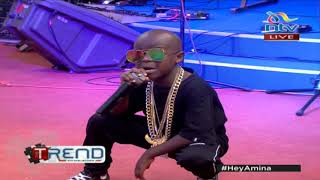 #theTrend: Juala Superboy performs LIVE