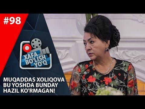 Xafa Bo'lish Yo'q 98-son Muqaddas Xoliqova Bu Yoshda Bunday Hazil Ko'rmagan!  (14.12.2019)