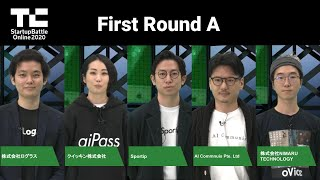 TechCrunch Startup Battle Online 2020/First Round A