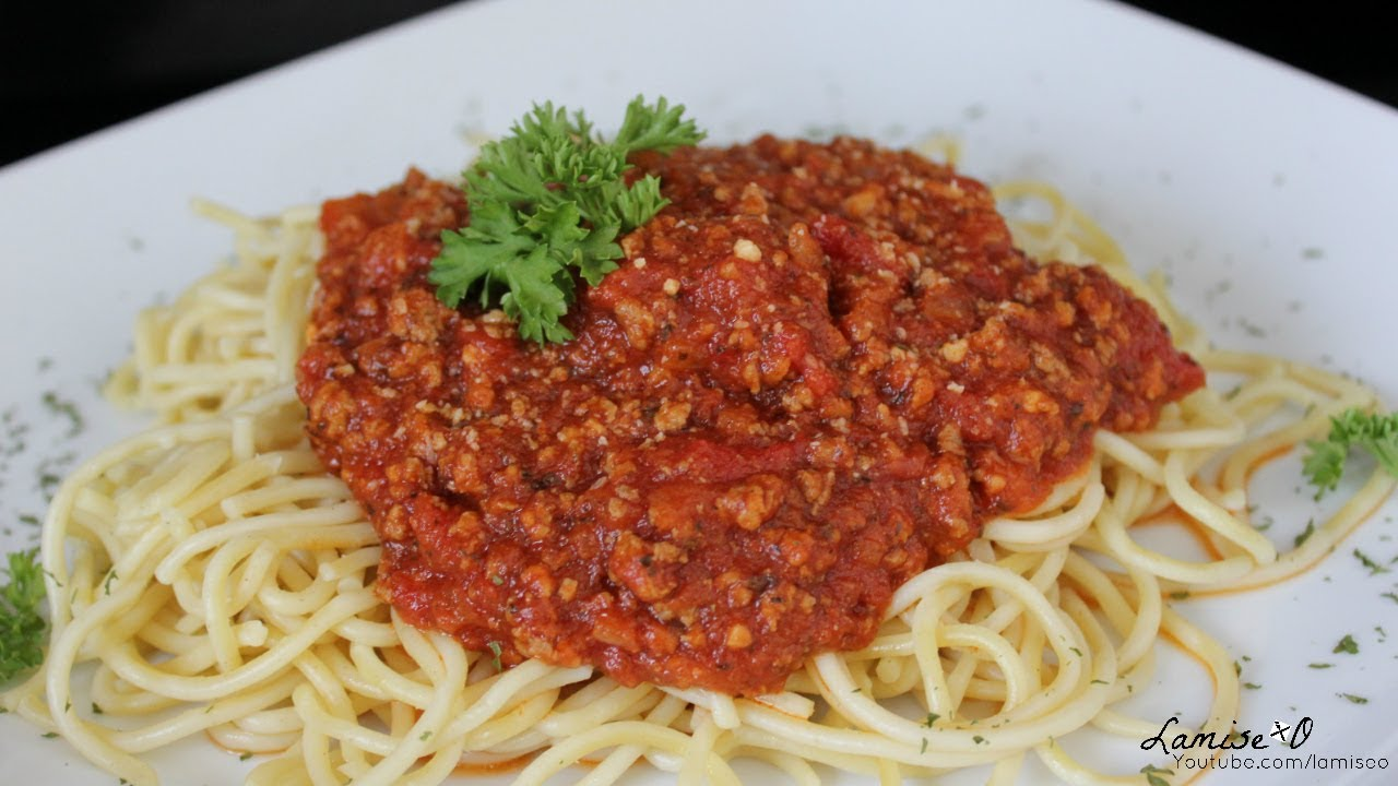 Easy Homemade Spaghetti With Ground Beef Recipe Episode 136