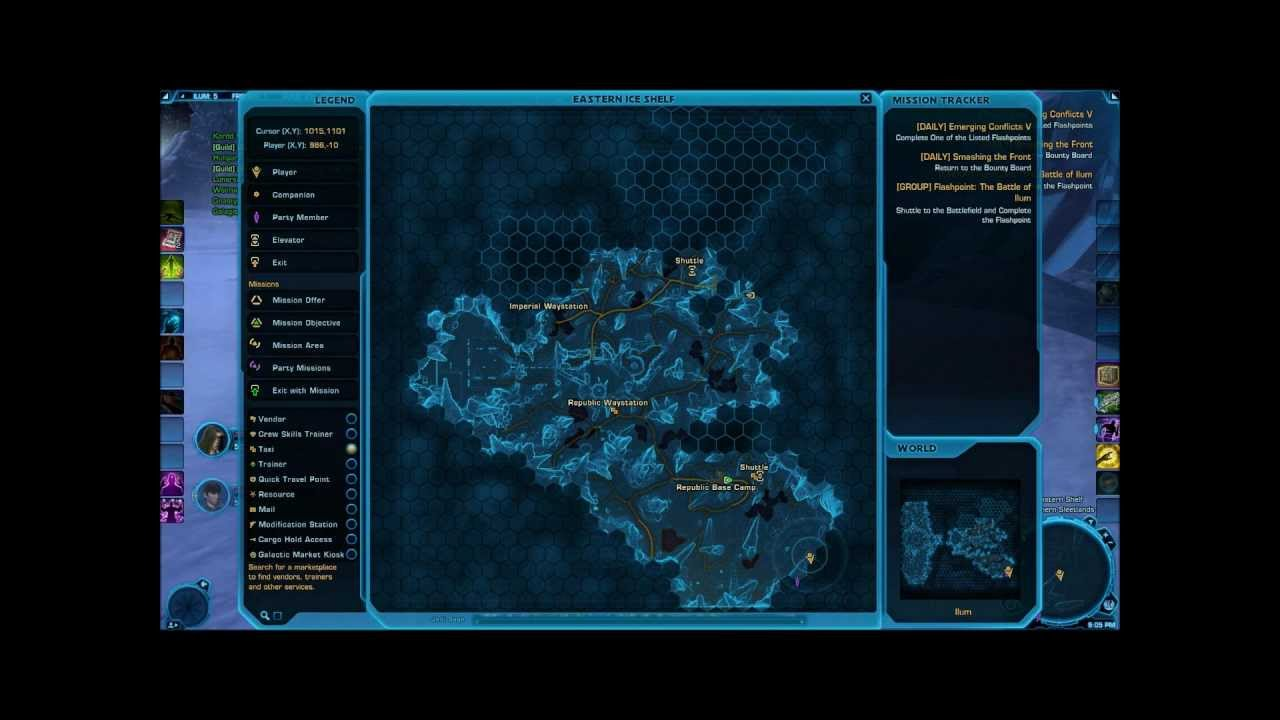 Swtor Ilum Datacrons Complete Guide Youtube