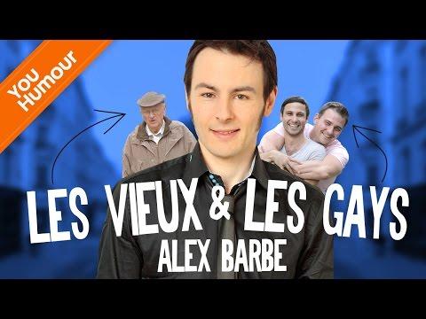 ALEX BARBE - Les vieux et les gays