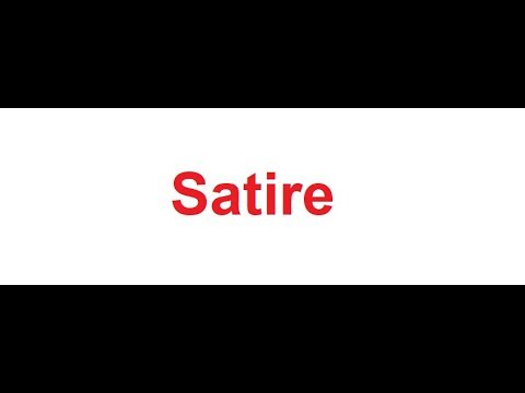 Satire meaning in hindi