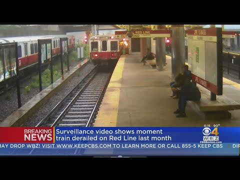 Video Shows Red Line Derailment