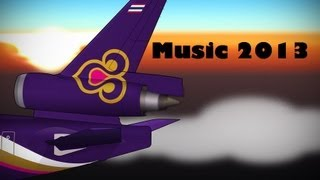 Thai Airways Boarding/Inflight music 2013 [HD]