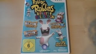 Unboxing - Raving Rabbids- Party Collection (Wii)