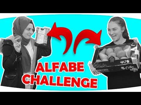 Alfabe CHALLENGE #2 - Eşya Bulma Oyunu | İSTEK VİDEO | Alphabet Challenge | Fenomen Tv