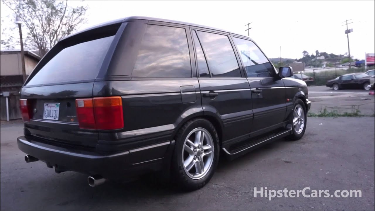 1999 Land Range Rover Callaway Edition Square P38 SUV Hipster
