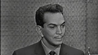 What's My Line? - Cantinflas; Joey Bishop [panel] (Sep 18, 1960)