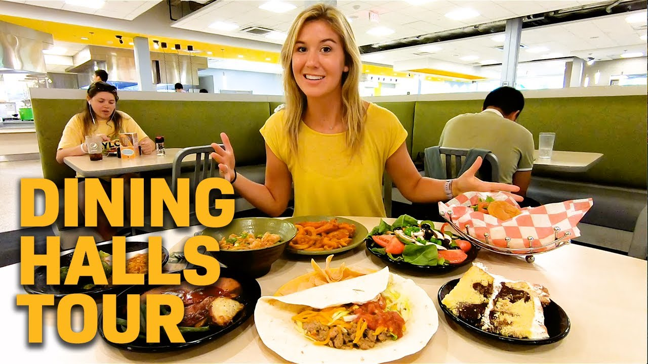 Inside Baylor Dining Halls Penland Memorial Youtube