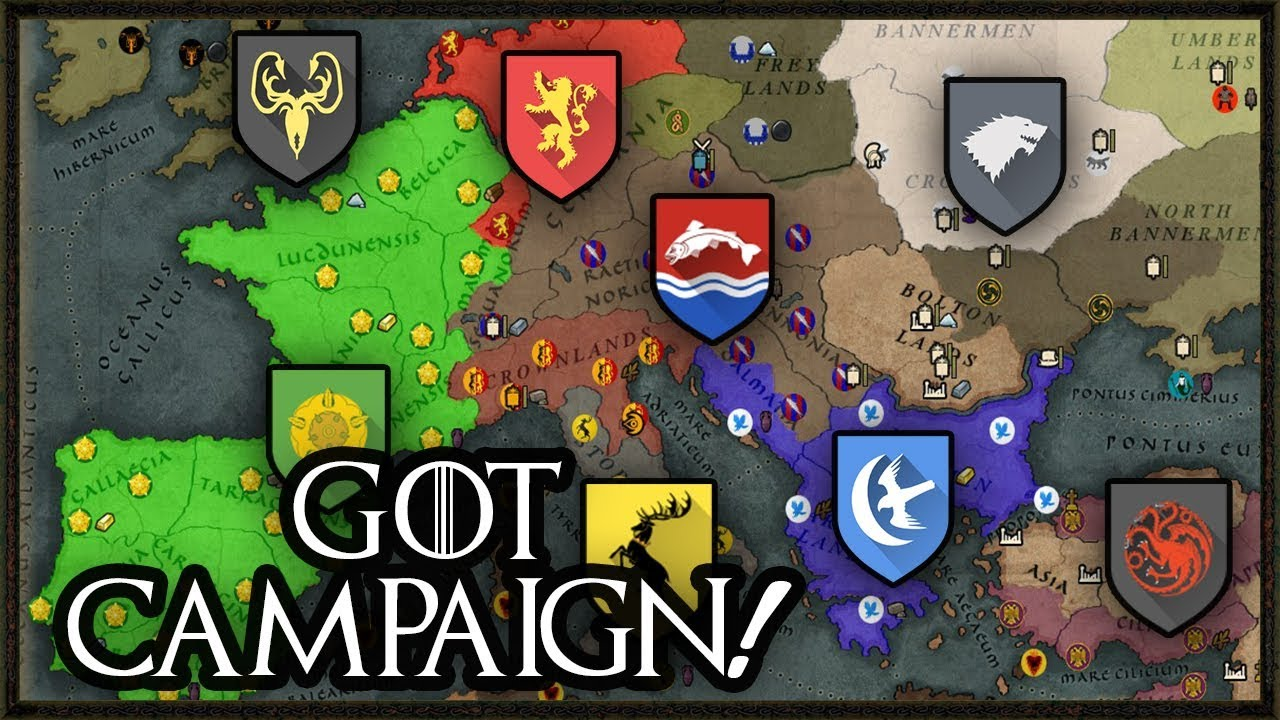 NEW Game Of Thrones Campaign Mod - Total War: Attila Gameplay