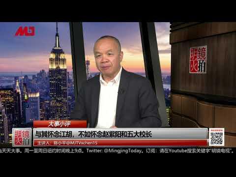 """陈小平:中国为何重回""""1984""""?领导人在害怕什么?"""