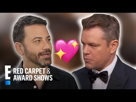 Matt Damon Talks Feud With Jimmy Kimmel at the 2017 Oscars | E! Live from the Red Carpet