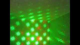 Лазерное шоу. Диско-лазер с цветомузыкой S-014