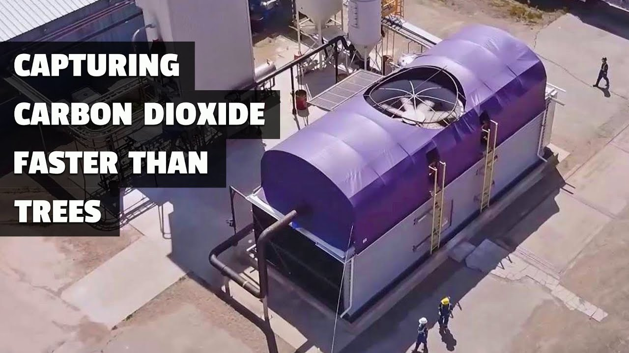 This Carbon Capture Plant does the work of 40 Million Trees