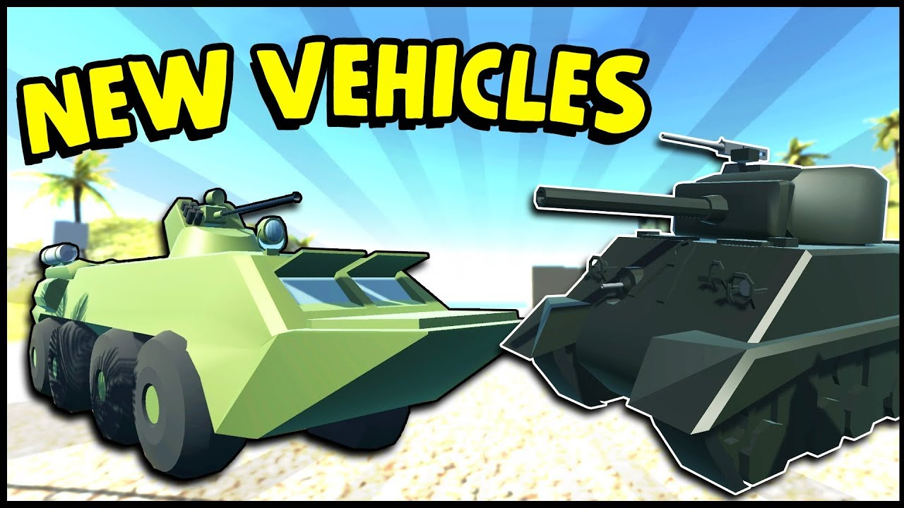 NEW Sherman, APC, Boat & Plane! Vehicle Modding! (Ravenfield New Update  Gameplay)