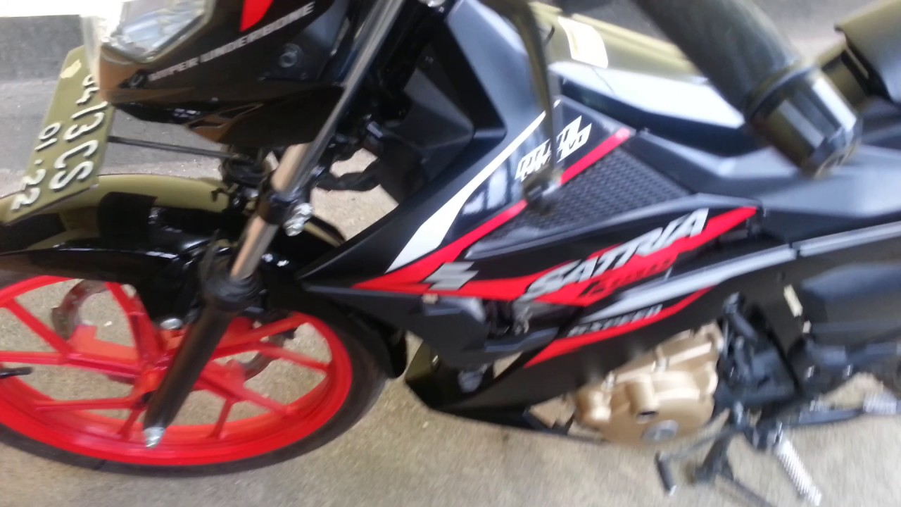 Motor Satria Fu 150 Terbaru 2017