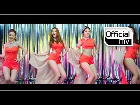 [MV] Dalshabet(달샤벳) _ Be Ambitious(내 다리를 봐)
