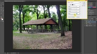 [Thiết kế đồ họa] Học Photoshop - Chỉnh màu phong cảnh - Trung tâm Tin học Khoa học Tự Nhiên