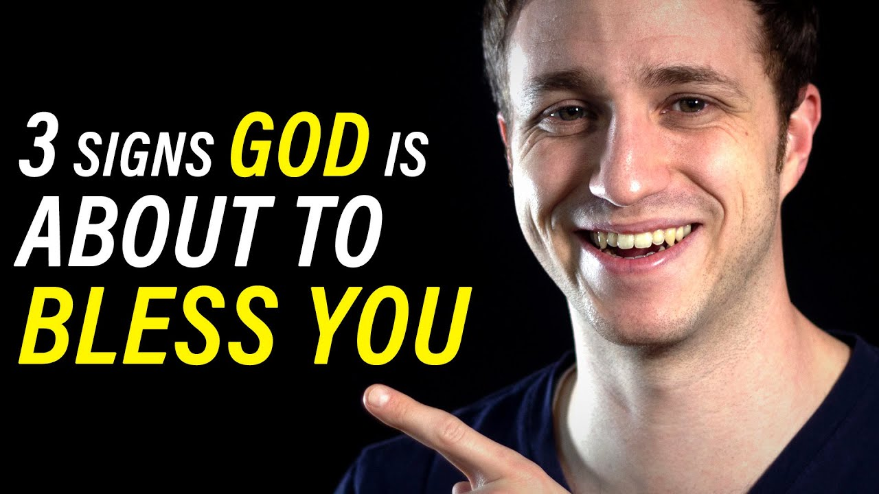 3 Signs God is About to Bless You - Short Sermon