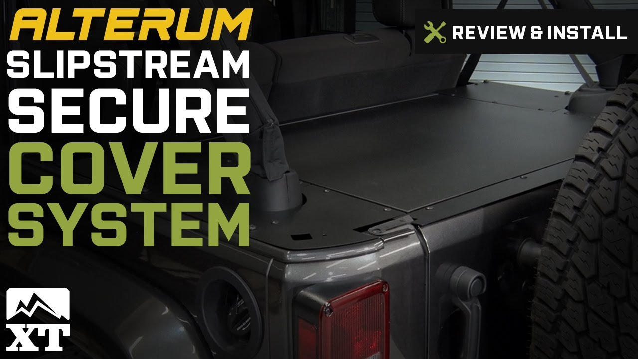753b869553 Jeep Wrangler (2007-2017 JK) Slipstream Secure Cover System Review & Install
