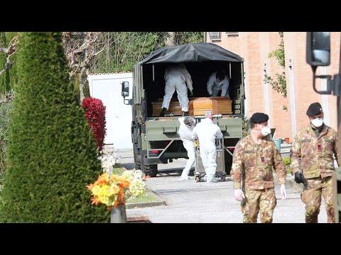 Da Bergamo a Ferrara 45 morti da coronavirus