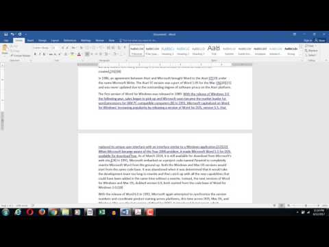 MS Word || Widow and Orphan Paragraphs