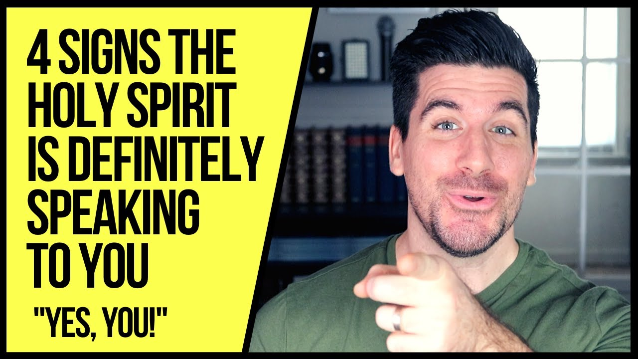 The Holy Spirit Truly Is Speaking to You If . . .