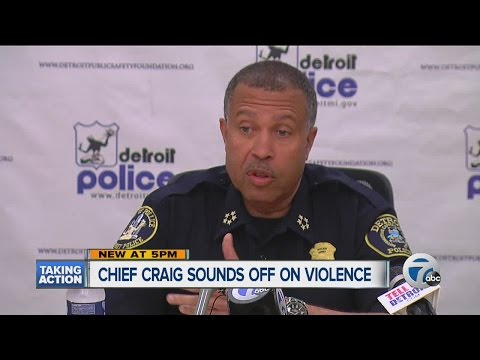 Detroit chief: We are battling urban terrorism