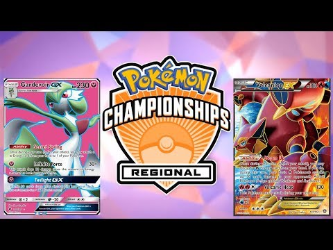 Pokemon TCG Hartford Regionals 2017-18 Top 4 Semifinals: Gardevoir vs Volcanion