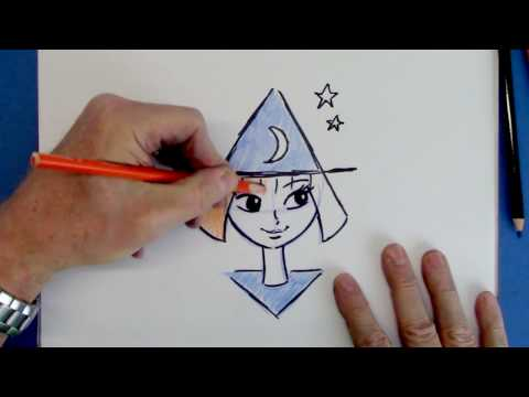 How To Draw Cartoon From The Letter Step By Step For Beginners