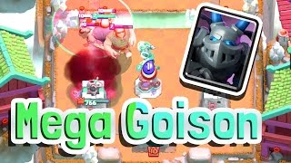 mega goison legendary deck   clash royale