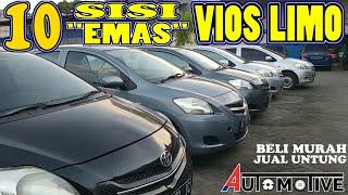 10 Sisi EMAS Toyota VIOS LIMO   Lebih Layak Dari LCGC..??