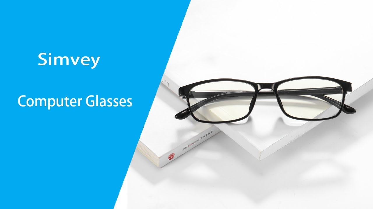 b7438bd49a8 Simvey Computer Eye Strain Glasses Blue Light Blocking Test Review 1822