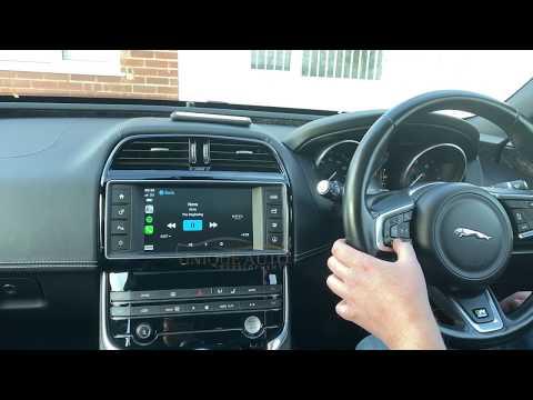 Wireless CarPlay Demo Video For Jaguar XE XF F-Pace F-Type Unique Auto Developments
