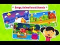 Kids Nursery Rhymes and Puzzles Game - Offline Cartoon Videos and games in Android