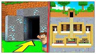 COME COSTRUIRE UNA PORTA 100% SEGRETA! - Minecraft ITA