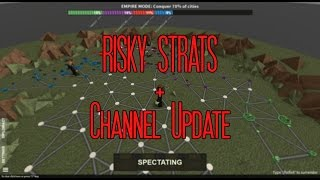 Risky Strats + Channel Update!