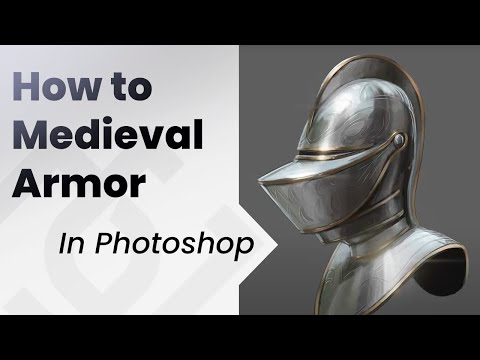 How to paint_ MEDIEVAL ARMOR_ TUTORIAL
