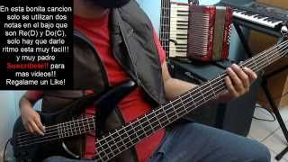 17 Años Los Angeles Azules Bass Cover Tutorial