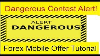 Dangerous Forex Alert   Recharge option is Very dangerous for you   TaniForex Tutorial In Hindi Urdu