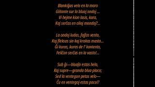 La velo – cigana gitaro – guitar jazz minor  ( Esperanto, Эсперанто )