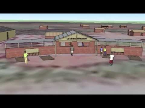Original design for the new Cameroon Catalyst electricity hub in Bambouti