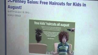 Free Kids Haircuts @ JC Penny for the month of August 2012 Thumbnail