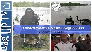 FeederMasters Super League 2019 | Carr Mill Dam | BagUpTV | Live Match Fishing