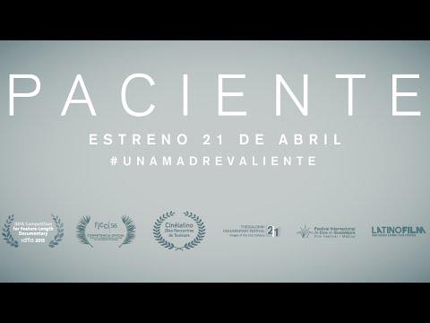 TRAILER DOCUMENTAL PACIENTE | ESTRENO 21 DE ABRIL