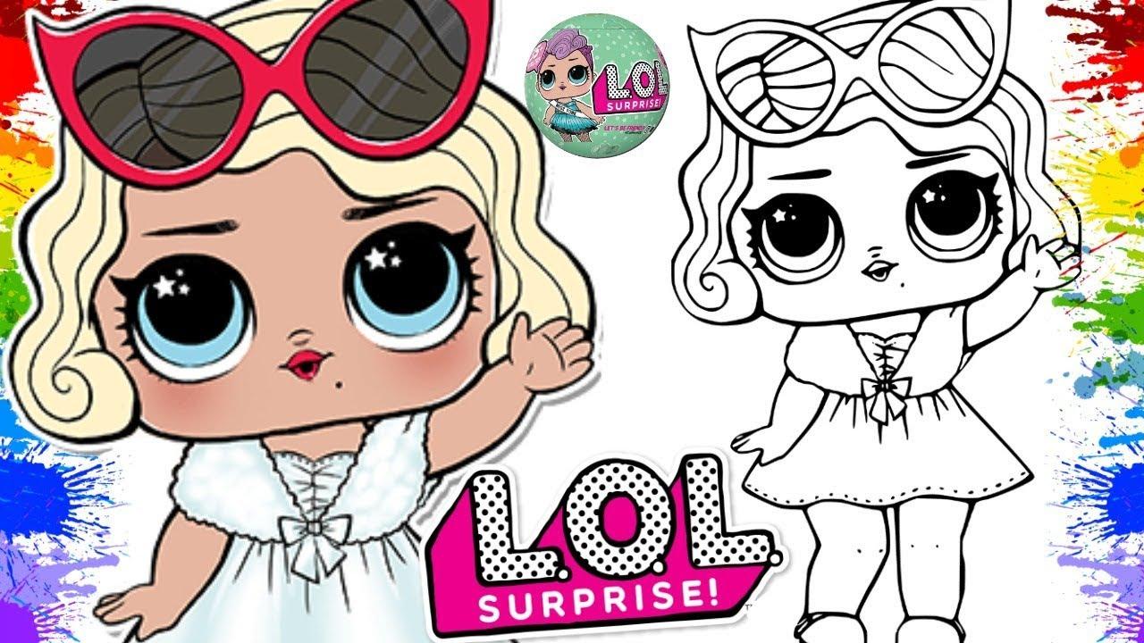 Colorindo Bonecas Lol Doll Lol Surprise Brinquedo Para Criança Boneca Lol Surpresa Colorir Musica