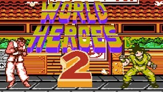 World Heroes 2 (Unl) (NES Pirate) - NES Longplay - Ryu Walkthrough (NO DEATH) (FULL GAMEPLAY)